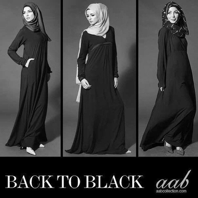 These dresses could be used instead of Abays.
