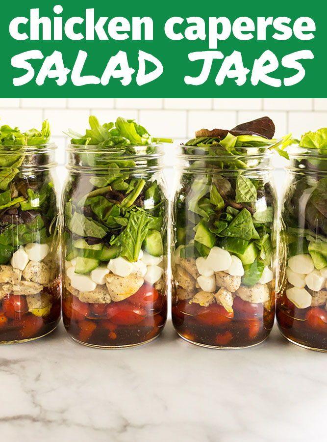 Caprese Salad In A Jar Recipe