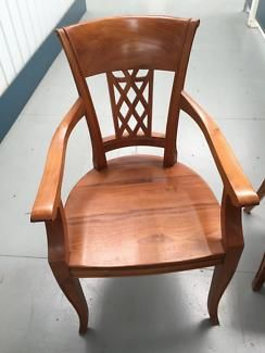 Solid Teak Dining Chairs | Dining Chairs | Gumtree Australia Stonnington Area - South Yarra | 1134588969
