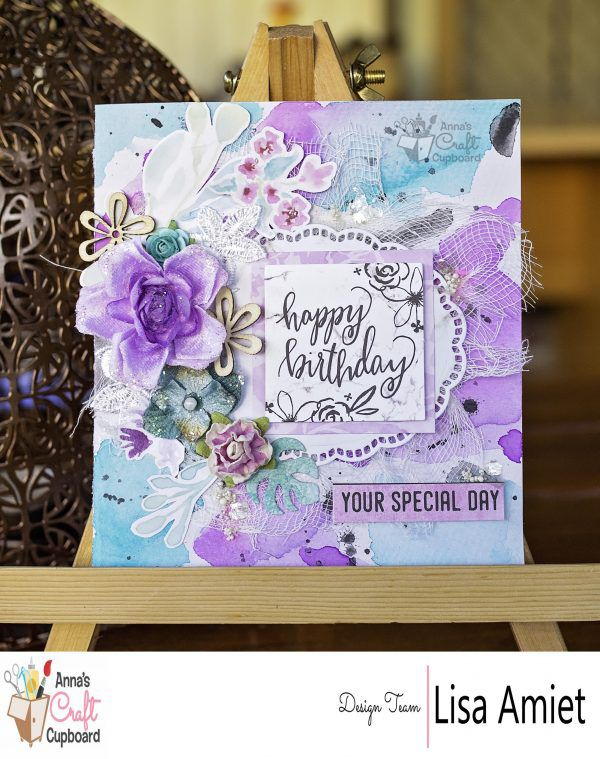 Another beautiful card by Lisa @leesyjsnaps using the Wildflower collection from @Kaisercraft. The complete wildflower collection is in store at Anna's now. You can see all of Lisa's creations on @annascraftcupboard blog ... #scrapbooking #annascraftcupboard #onetalentedlady #annasdtmember #scrapbookinglayout #ilovescrapbooking #annasdtinspiration #kaisercraft #wildflower #handmadecards