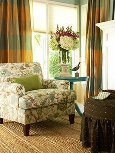 cheery little table and lovely upholstered chair donu0027t you think find this pin and more on reading