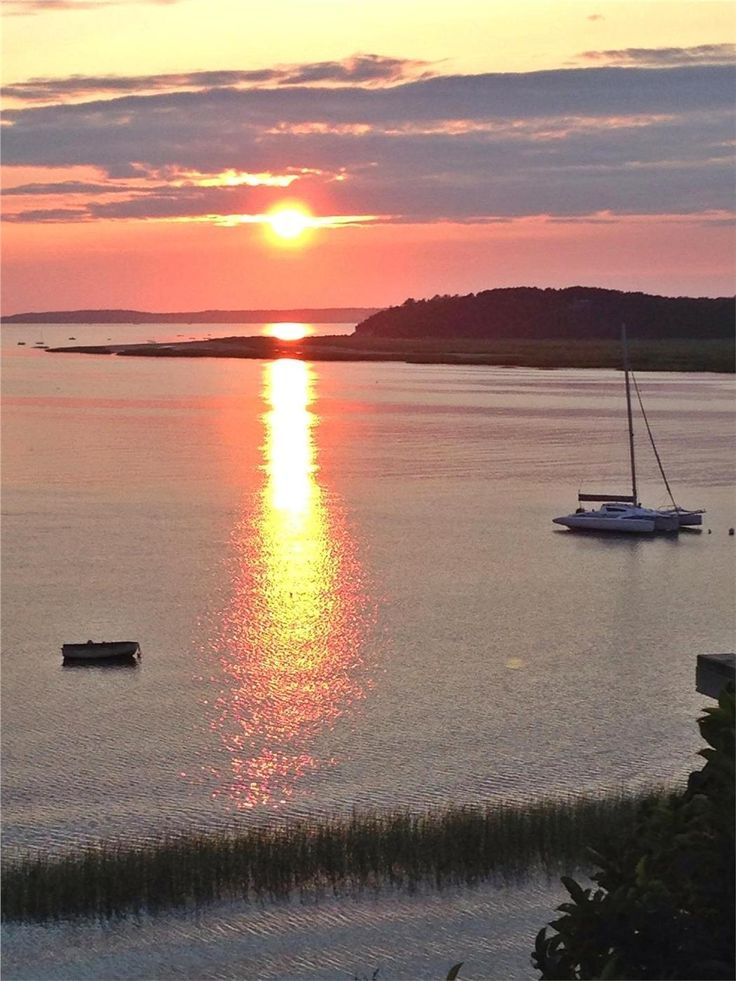 Cape Cod Summer Vacation Rentals Part - 37: Golden Sun Over Cape Cod Bay, Wellfleet