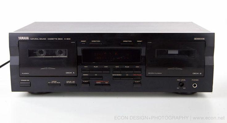 Yamaha K Dual Cassette Deck Auto Reverse