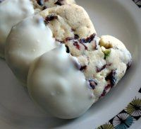 Joy's Thermomix Experiences - Recipe for cranberry pistachio shortbread