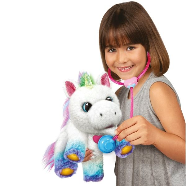 Little Live Rainglow Unicorn Vet Set Smyths Toys Little Live Pets Toys Uk Vets
