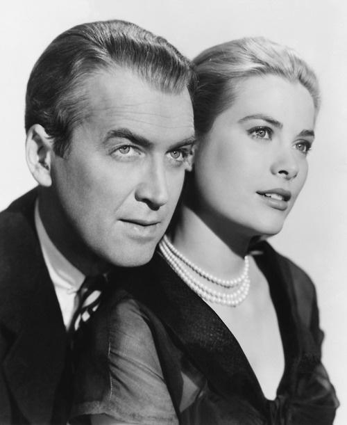 """James Stewart & Grace Kelly - Hitchcock's """"The Rear Window"""""""