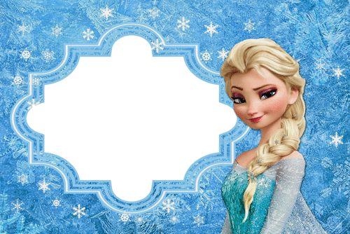 Imagenes de frozen para cumpleaños , imagenes con dibujos de los personajes de frozen en tarjetas para cumpleaños.  ¿Quieres invitar a tus a...