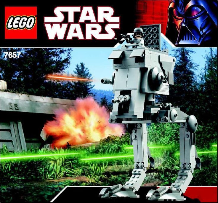 lego star wars at rt walker instructions