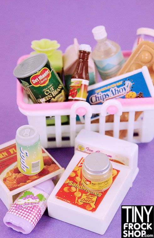 Barbie Grocery Store List Set