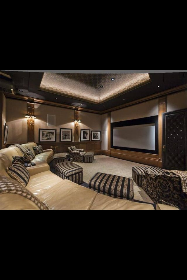 Home movie theater!