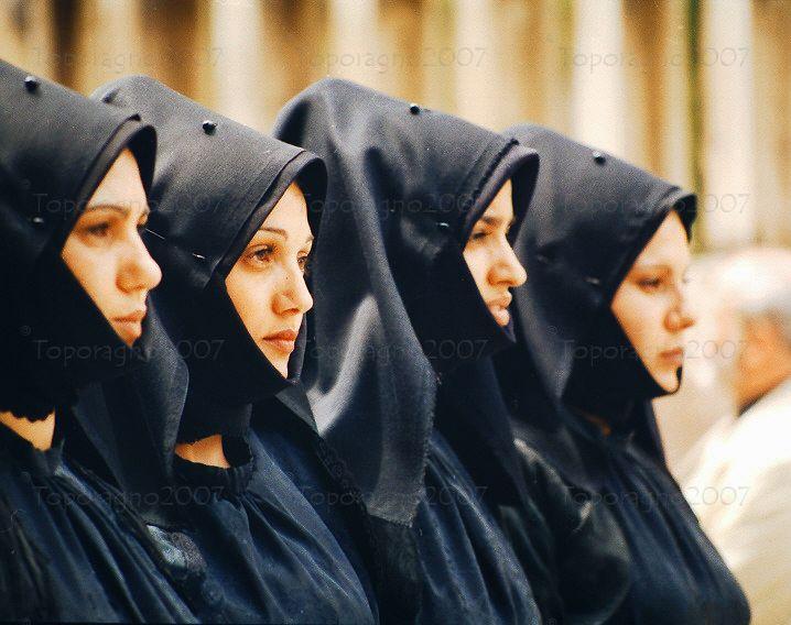 Christian Sardinian woman