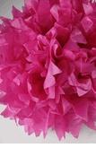 """Dark Pink Paper Flower 16"""" Balls (4 balls)  $11.99"""