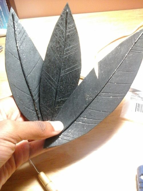 How to make (decent) feathers with craft foam!