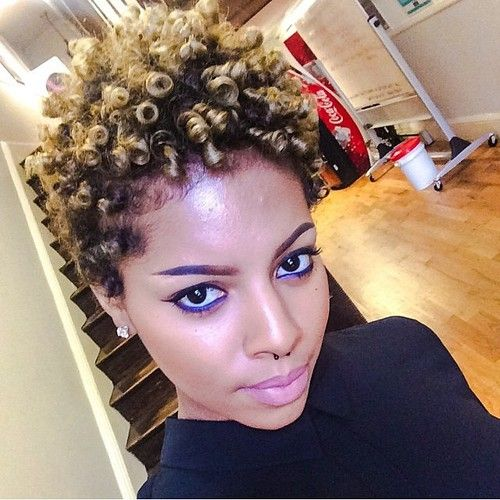 Cool 1000 Images About Short Natural Hairstyles On Pinterest May 17 Short Hairstyles Gunalazisus