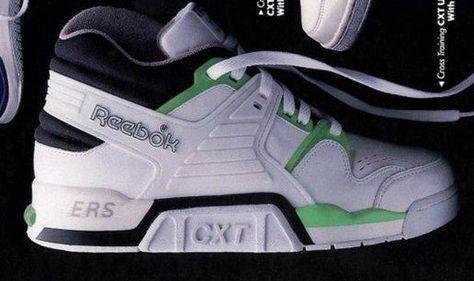 official photos af806 0b1c2 Reebok CXT Ultra Cross Training Sneaker 1989 Tenis, Zapatillas, Zapatos De  Los 90s,