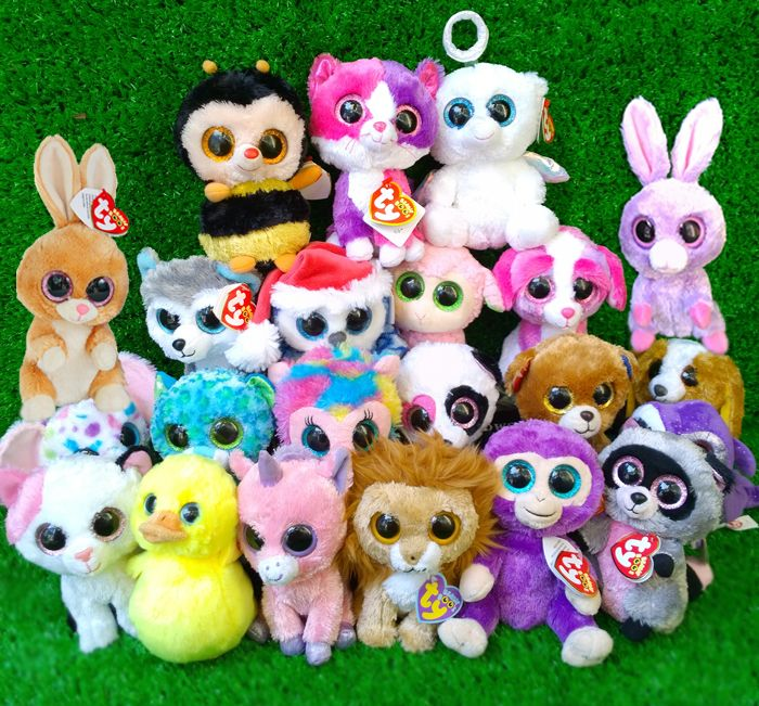Ty Beanie Boos are the most lovable doe-eyed critters in the universe! Cuddly and super soft, these plush pals are so much fun and super-cute. Available at Fab Store Gift & Gadgets store in Spinneys The pearl Qatar, Madinat Centrale.