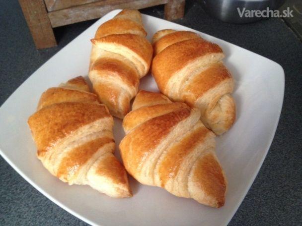 Pravé francúzske croissanty (fotorecept) - Recept