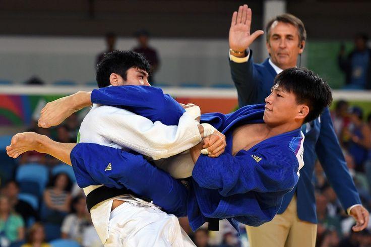 DAY 1: Men's Judo - Kim Won Jin of Korea vs Tsogtbaatar Tsend-Ochir of Mongolia