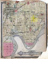 Liberty, Missouri River, Wabash R.R., Landing, Clay County 1914