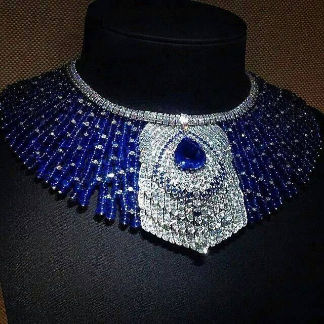 Cartier Peacock Necklace, 1920's #VintageJewelry #ArtDeco