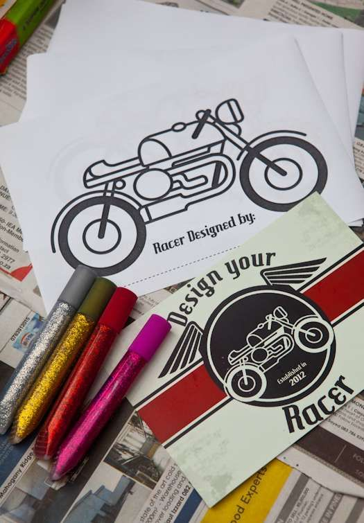 Cafe Racer Motorbike Party Birthday Party Ideas | Photo 1 of 33 | Catch My Party
