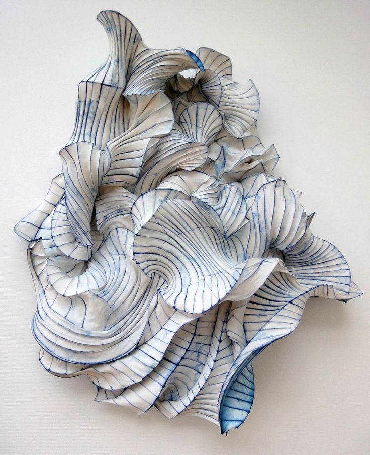 Sculpture en papier papier art sculpture paperart