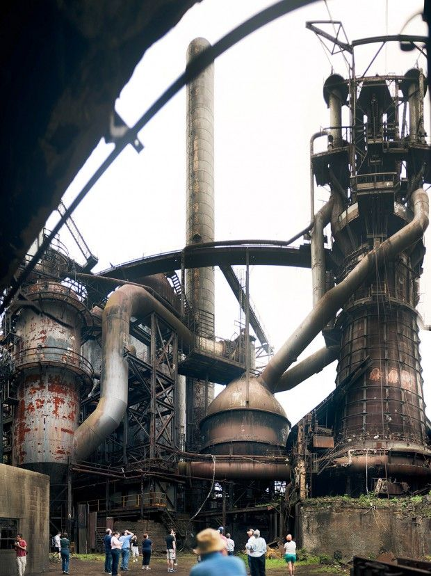 The Carrie Blast Furnace Tour (photo by Veronica Varos)