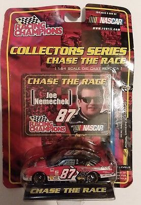 JOE NEMECHEK #87 Racing Champions NASCAR Collectors Series Chase the Race MOC