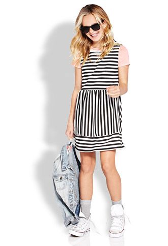 Darling Fit & Flare Dress (Kids) | FOREVER 21 - 2000126326