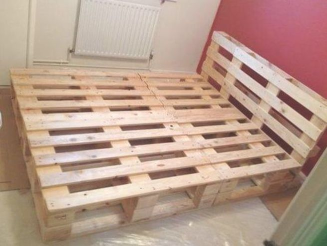 Diy Beds Made Out Of Wooden Pallets Muebles Hechos Con Tarimas