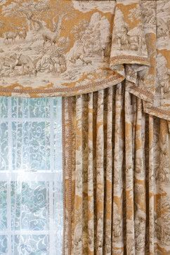 traditional window treatments Exact measurements are necessary!