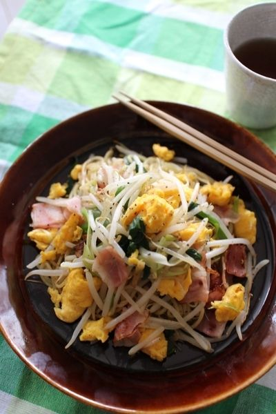 もやしと炒り卵の焼きそば by ばーばちゃんさん | レシピブログ - 料理 ...