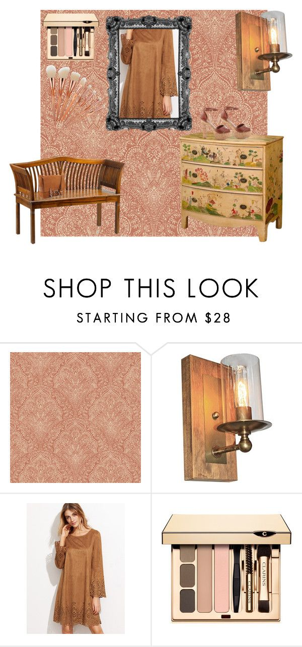 """""""# Rustico!"""" by biancacheles ❤ liked on Polyvore featuring Bebe, Artcraft, Rustico and rustic"""