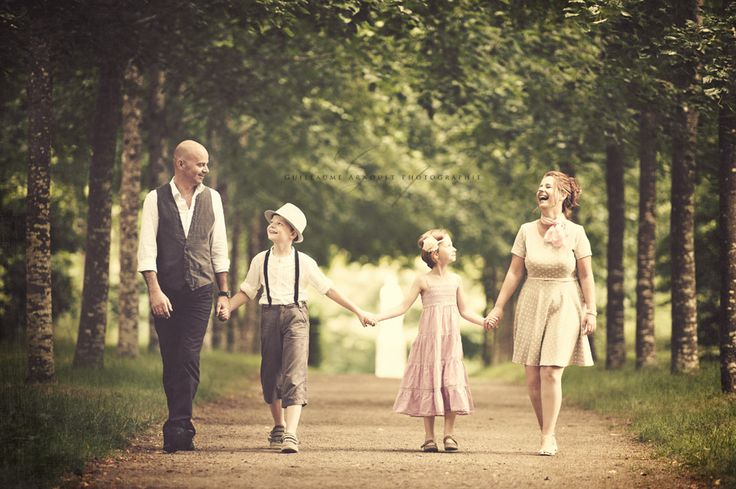 Vintage Family Session | un Moment de Pose - Guillaume Arnoult Photographie