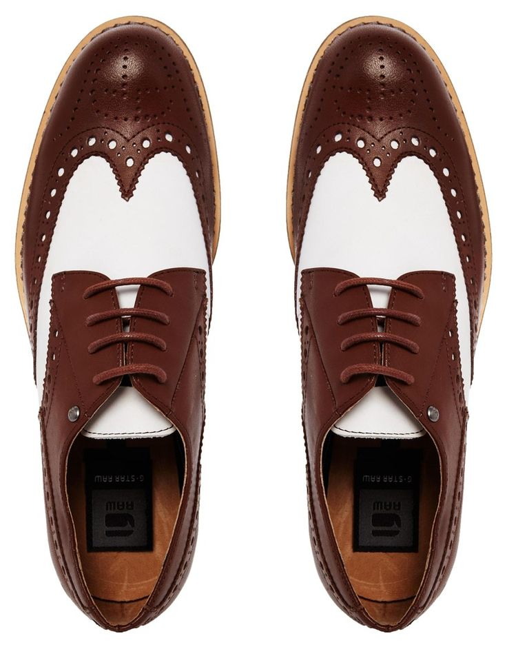 free shipping c1b83 0b500 Zapatos planos estilo Oxford de cuero Eton II de G-Star