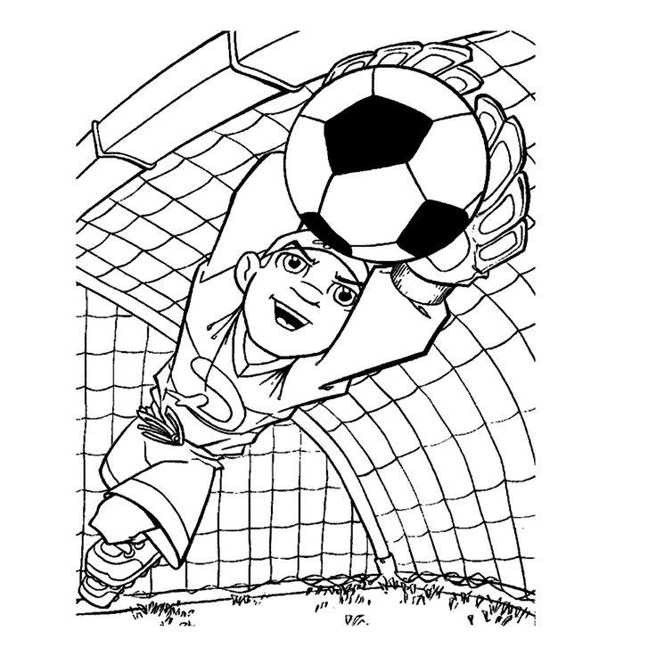 voetbal 0023 voetbal kleurplaten en sport