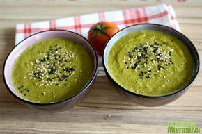 Receta de gazpacho de kale - La Cocina Alternativa