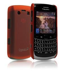 CYGNETT CY0050CBFRO RED FROST CASE FOR BLACKBERRY BOLD 9700