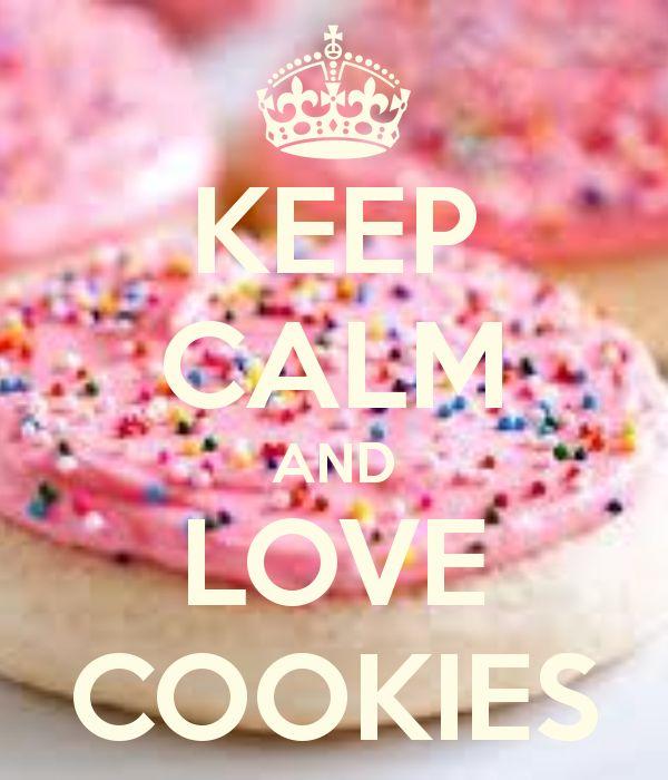 Keep Calm Cookies | KEEP CALM AND LOVE COOKIES