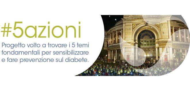 #5Azioni, evento in hangout per promuovere la prevenzione del Diabete