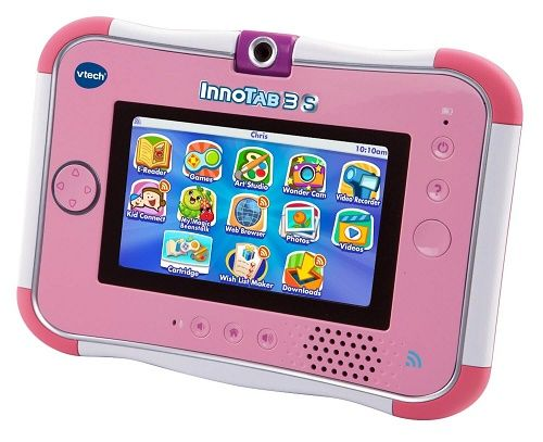 Currently on sale over at Amazon.com, open up a world of learning with the New VTech Innotab 3S Kid's tablet that comes with wi-fi, comes in two color's p