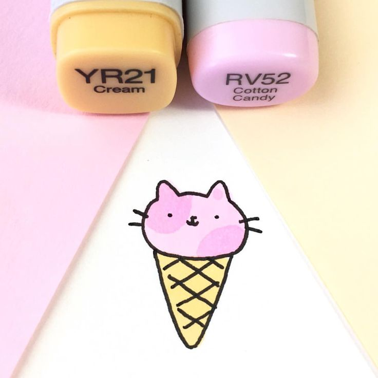 """12.3k Likes, 33 Comments - ⭐️KiraKiraDoodles (@kirakiradoodles) on Instagram: """"When it gets hot, don't forget to eat enough ice cream! ☀️ • • #kawaii #可愛い #かわいい #doodling …"""""""