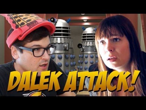 Welcome Back, Doctor Who! True Story: Veronica Belmont has never watched Doctor Who! How is this even possible? The Daleks at Revision3 are not pleased and, in honor of the Season 7 premiere, decide to show her just how important this show really is.