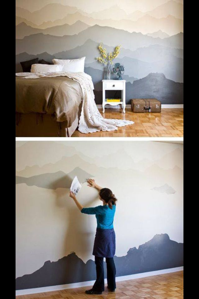 Here are lots of wonderful ideas to help you decorate a blank wall.