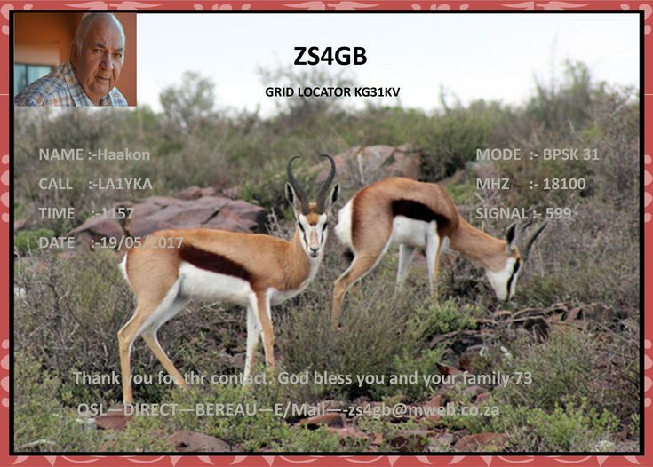 ZS4GB   South  Africa