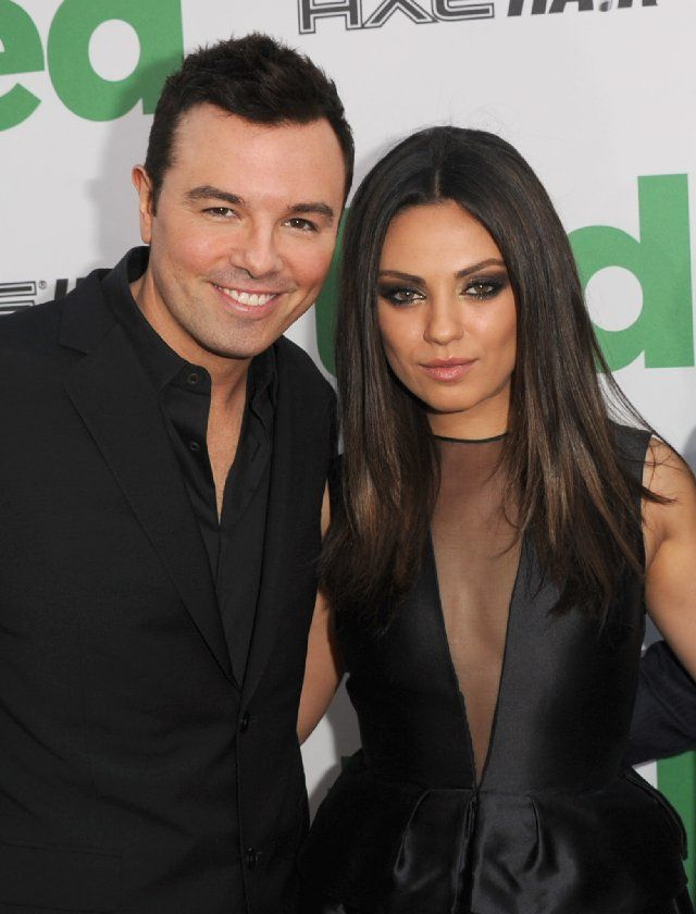 mila kunis and seth macfarlane at event of ted