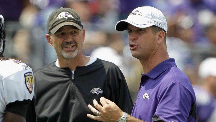 Ravens retain Marty Mornhinweg, John Harbaugh hints at hiring Chuck Pagano