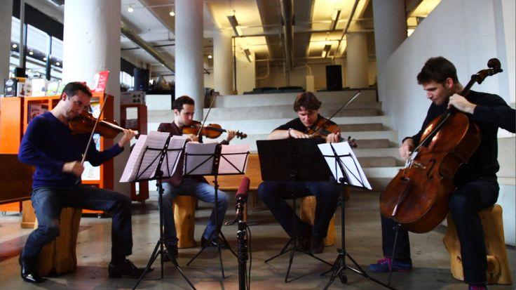 Beautifully played by Ebene Quartet Mendelssohn String Quartet No. 6 Second movement