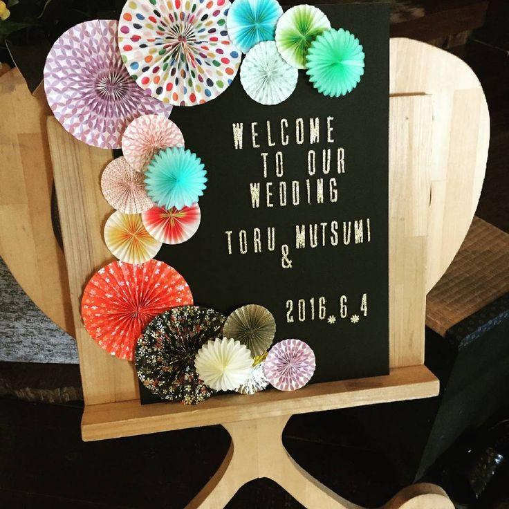とっても楽しかった!! #ウェルカムスペース#ウェルカムボード #卒花 #花火#和婚