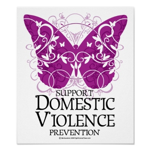 1000+ Images About Domestic Violence : Purple Ribbon On